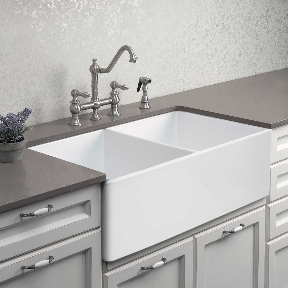 Fireclay A Front Or Undermount
